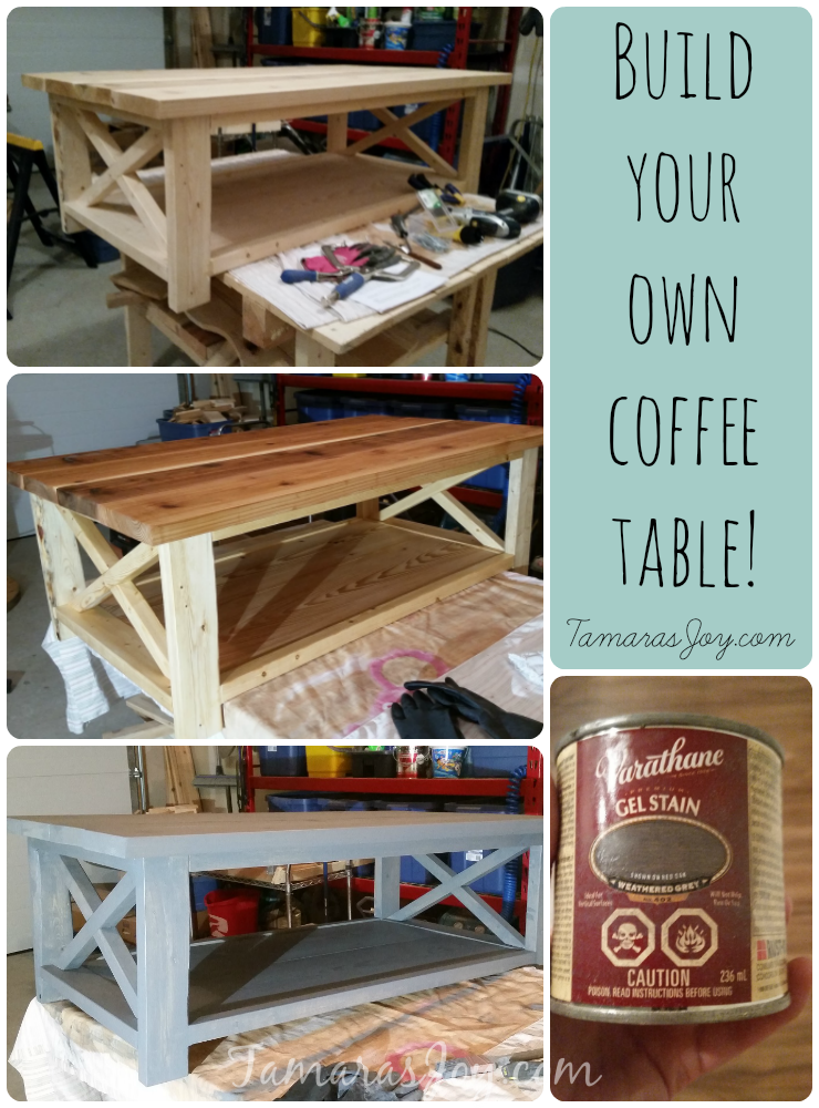 i built my own modern diy coffee table tamara 39 s joy