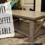 I Built my own modern DIY Coffee Table!