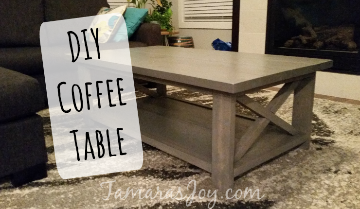 I built my own modern diy coffee table tamaras joy i have been pinning ana white diy ideas for a good year and thinking to myself there is no way i could every build something solutioingenieria Gallery
