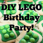 Simple DIY LEGO Birthday Party