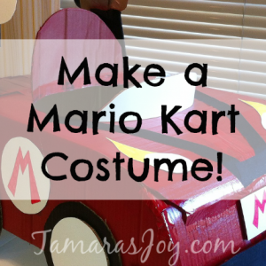 Make a Mario Kart Halloween Costume!