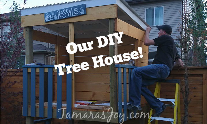 diy tree house clubhouse tamara 39 s joy