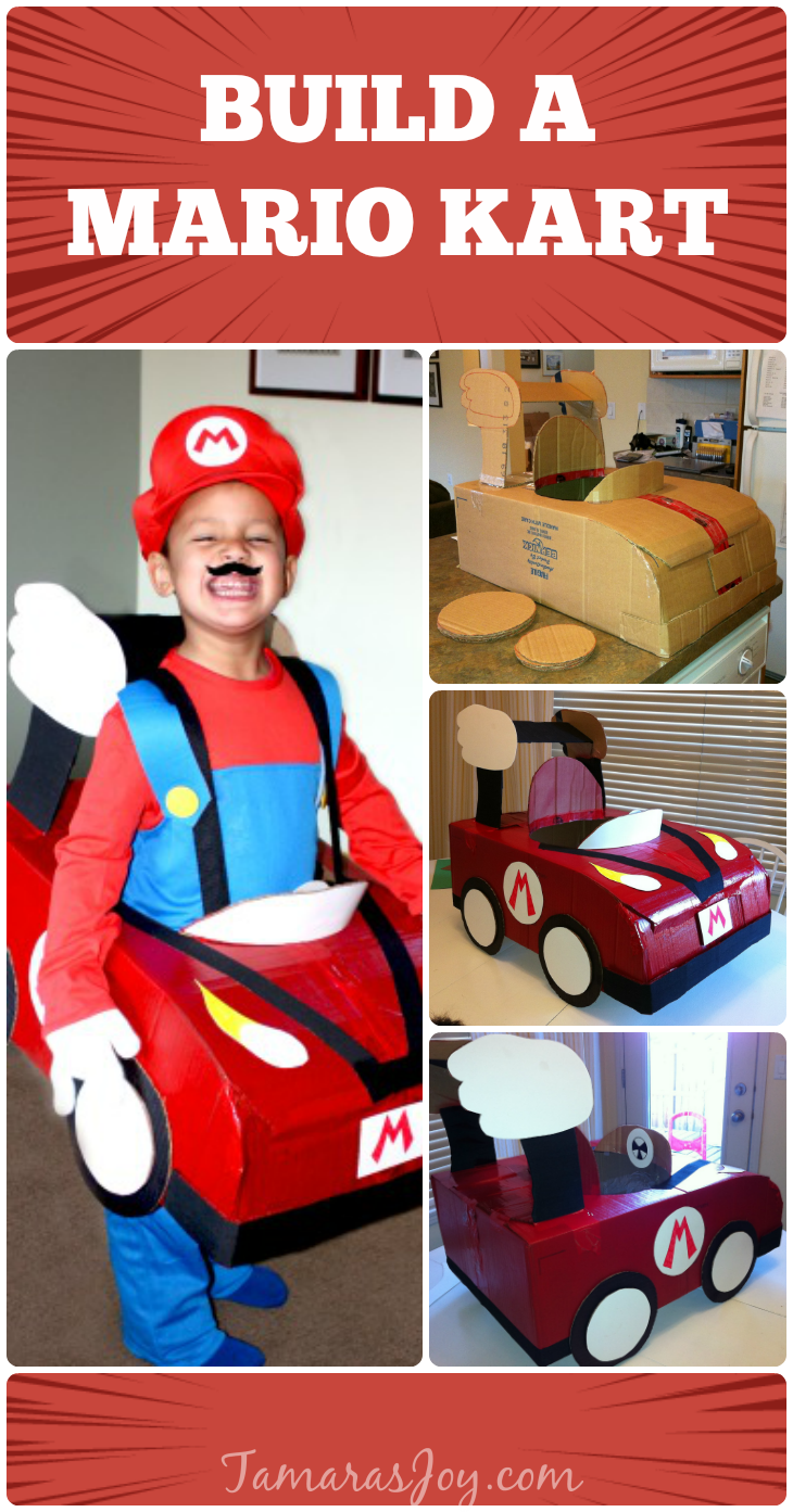 Well thatu0027s that! Please share this post by pinning the below picture  sc 1 st  Tamarau0027s Joy & Make a Mario Kart Halloween Costume! - Tamarau0027s Joy