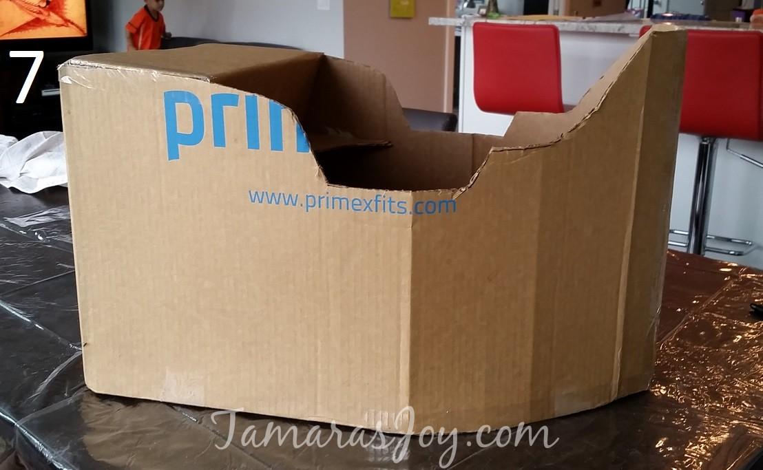Boys Kids Costume, DIY Cardboard Pirate Ship ⋆ Tamara's Joy