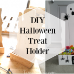 DIY Ghost Halloween Treat Holders
