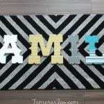 Six Ways to Decorate Wall Letters