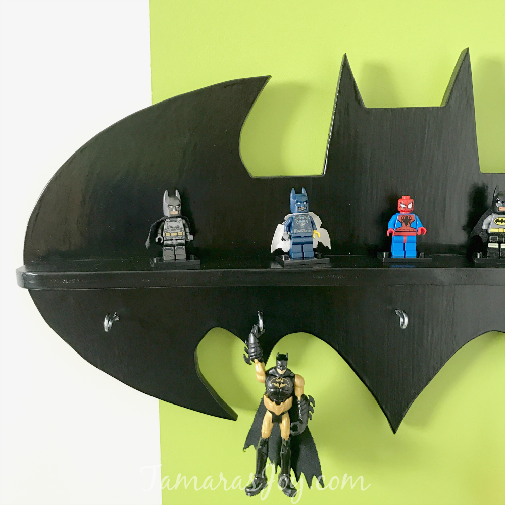 Ready To Build Your Own DIY Batman Shelf