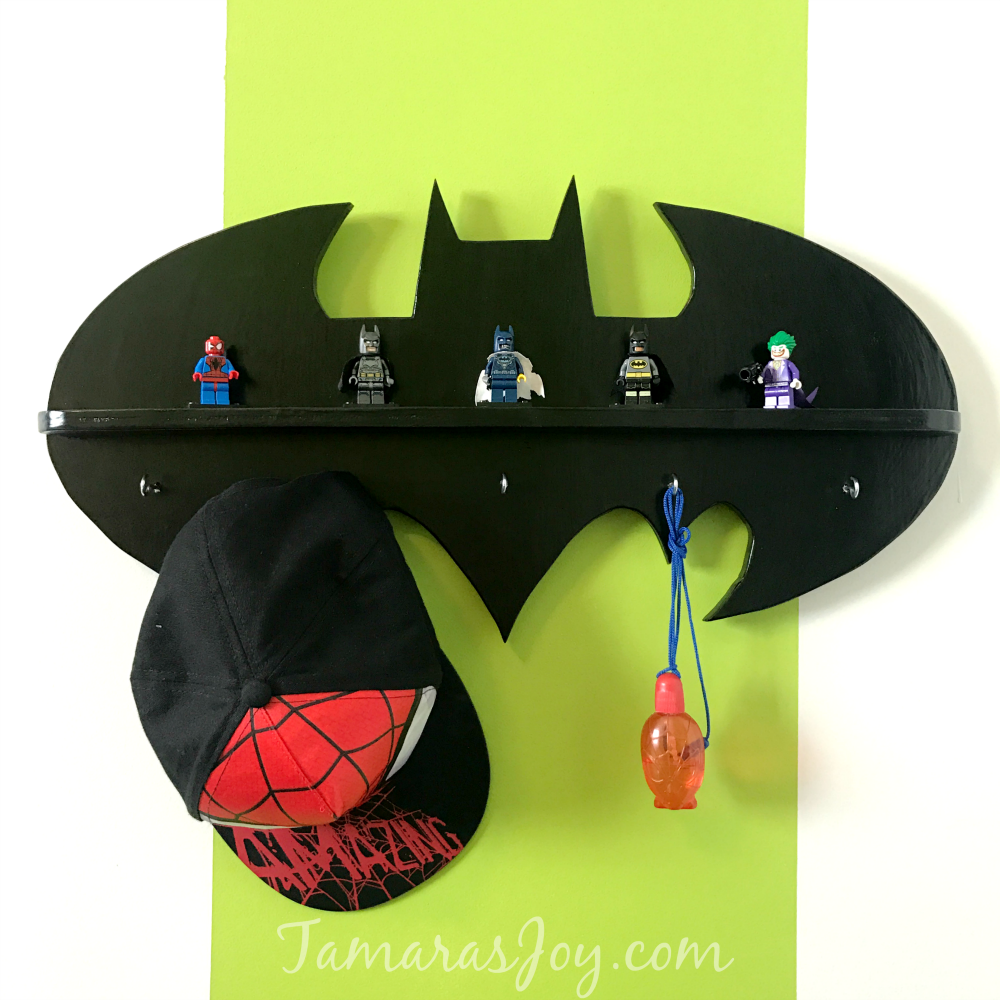 DIY Batman Shelf