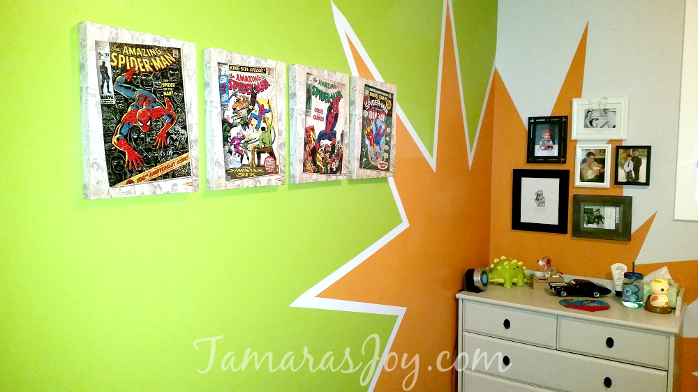 diy superhero bedroom boom! ⋆ tamara's joy