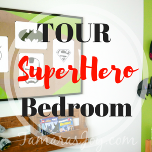 Super Hero Bedroom Tour