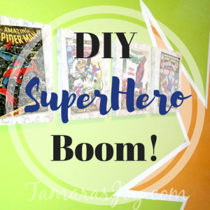 DIY Superhero Bedroom Boom!