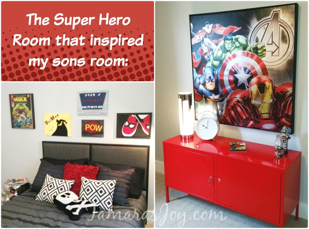 super hero bedroom tour ⋆ tamara's joy