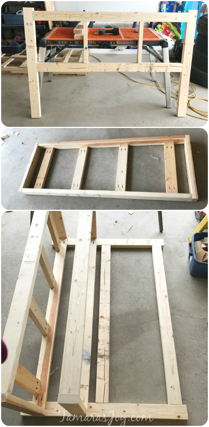 Diy outdoor storage bench ana white inspired tamara 39 s joy Build your own toy chest