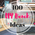 One DIY Bench done over 100 different ways!