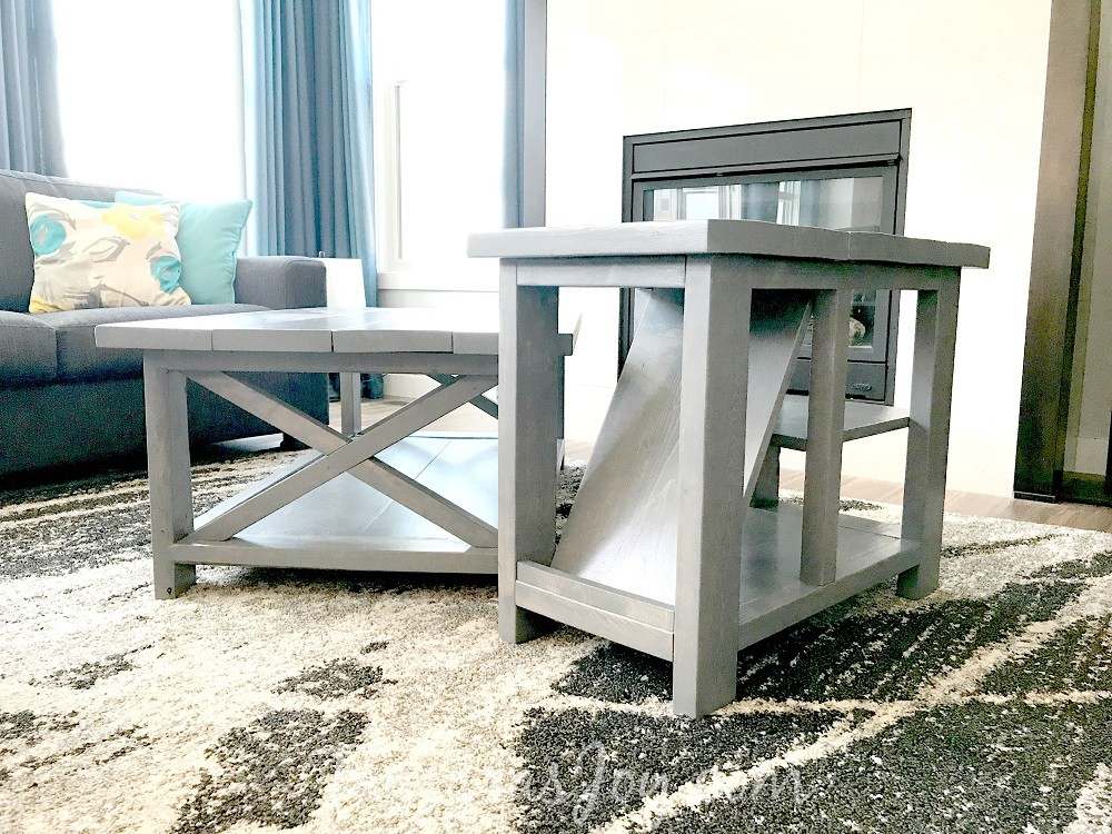 This DIY Rustic Side Table Ended Up Being A Fairly Simple Build That Needed Only Few Tools And The Best Part Of Partnering With Kreg Is It