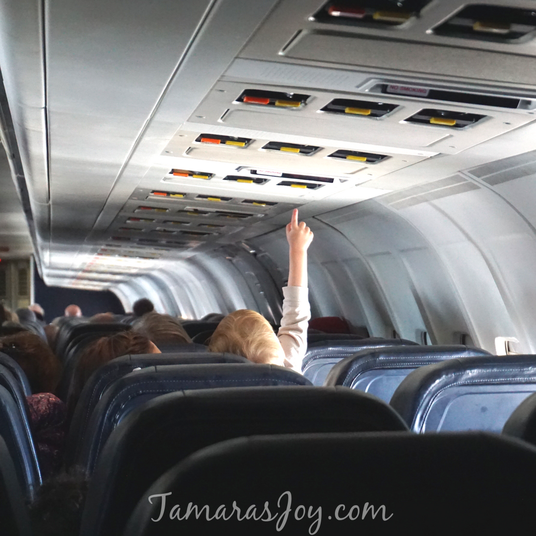 Expectations, Top Tips for Flying with Kids