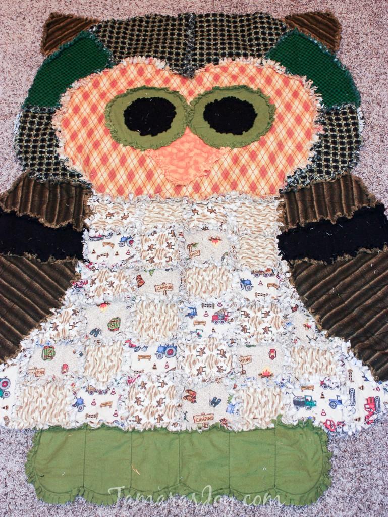 Top 10 Animal Rag Quilt Patterns ⋆ Tamara S Joy