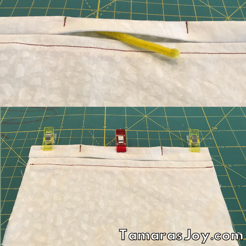 How to sew a face mask with filter pocket