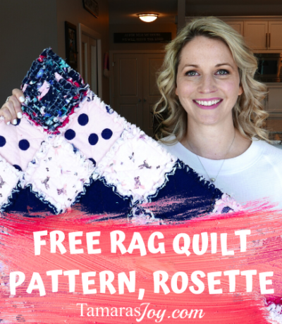 Free Rag Quilt Pattern for baby blanket