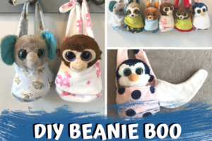 DIY Beanie Boo pouch Title